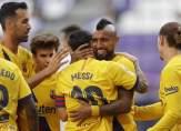 برشلونة يبقي على اماله بفوز متواضع على بلد الوليد