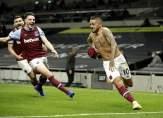 اهداف مباراة توتنهام ووست هام في الدوري الانكليزي