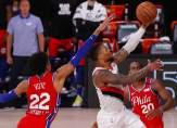 NBA: بورتلاند يفوز على فيلادلفيا وداميان ليلارد يسجل 51 نقطة
