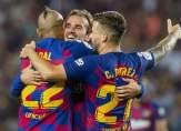 غريزمان يقود برشلونة لخطف بطاقة التأهل في الوقت القاتل