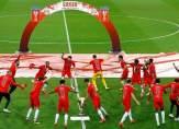 بطريقة مبتكرة ..سالزبورغ  يحتفل بلقب كأس النمسا في زمن كورونا