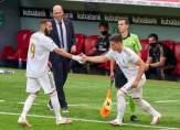 عزل نجم ريال مدريد بسبب كورونا