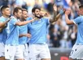 لاتسيو يحتفل بالتأهل إلى دوري أبطال أوروبا