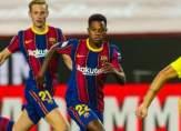 الليغا: برشلونة ينهي الامور برباعية في الشوط الاول امام فياريال