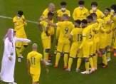 مشادة كلامية بين لاعبي النصر بعد الخسارة أمام الهلال