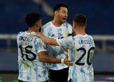 مجريات مباراة الارجنتين وتشيلي والباراغواي وبوليفيا