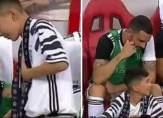 رونالدو يُحقق حلم طفل ويدعوه للجلوس إلى جانبه على دكّة البدلاء