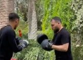 حكيمي يمارس الملاكمة في تونس