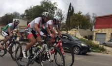 الآر، ضناوي وشيبان أبطال كأس لبنان لدراجات الطريق