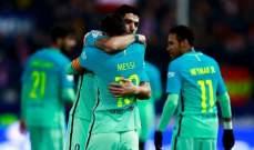 برشلونة يقتنص فوزاً مهماً من معقل الاتلتيكو والحسم في الكامب نو