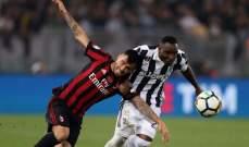 حكم نهائي كأس ايطاليا  بين اليوفي وميلان اخطأ بحق الفريقين