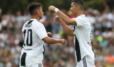 رونالدو يسجل هدفه الاول في الكالتشيو