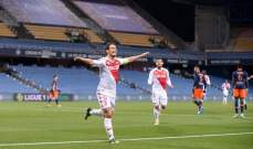 موناكو يكمل نتائجه الجيدة ويعود بفوز مستحق من ارض مونبيلييه