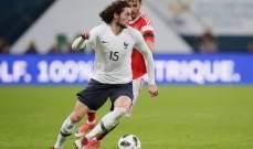 رابيو قد يغادر معسكر منتخب فرنسا