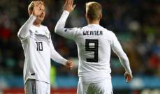 المانيا المنقوصة تقسو على استونيا بثلاثية وفوز بولندا والنمسا وتعادل كرواتيا وويلز