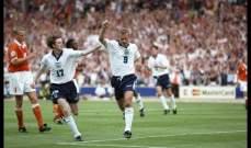 آخر مواجهة بين إنكلترا وهولندا تعود ليورو 1996
