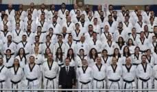 تايكواندو: أكثر من مائة مدرب  خلال دورة المدربين الأولى