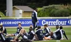 ديمبيلي ينخرط في التدريبات الجماعية لمنتخب فرنسا