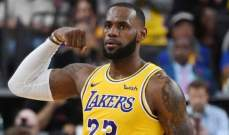 NBA: الليكرز يسجل انتصاره الاول والواريرز يضيف فوزجديد على حساب واشنطن