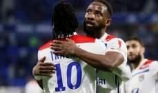 ديمبيلي يستعد بقوة للقاء برشلونة