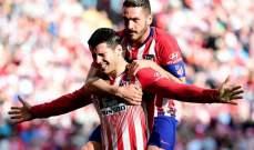 تمديد عقد اعارة موراتا مع اتلتيكو مدريد