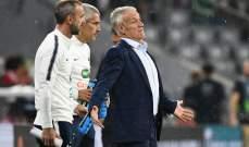ديشان : التعادل امام المانيا نتيجة جيدة