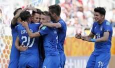 كأس العالم للشباب: ايطاليا اول المتأهلين لدور الثمانية بفوز على بولندا