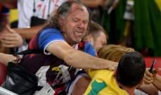 اشكال على المدرجات بين مشجعي صربيا والبرازيل