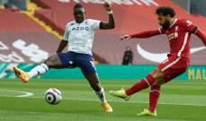 البريمييرليغ: ليفربول يخطف فوزاً قاتلاً امام استون فيلا ليعزز وضعيته