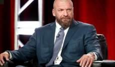 تريبل ايتش سيغيب عن استعراضات WWE