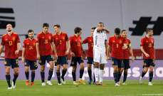 إحصاءات من مباراة اسبانيا - المانيا