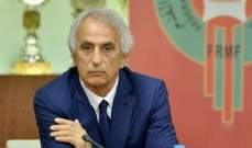 خليلوزيتش يعلن لائحة المغرب النهائية لوديتي بوركينا فاسو والنيجر