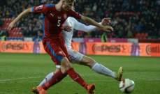 تصفيات يورو: التشيك تتعادل مع لاتفيا