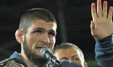 حبيب نورمحمدوف يؤكد من جديد: لن أعود عن الإعتزال