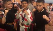 صائب الهاني بطل العالم في فئة الناشئين في الكيك بوكسينغ