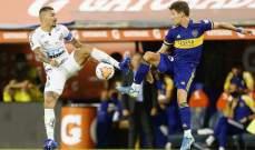 كأس ليبرتادوريس : التعادل السلبي يحسم لقاء سانتوس وبوكا جونيورز في ذهاب النصف النهائي