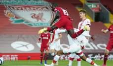 الدوري الإنكليزي: ليفربول يتخطى ضيفه ساوثامبتون بثنائية نظيفة