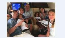 رونالدو يقضي العطلة مع عائلته