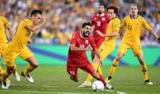 إحصاءات مباراة أستراليا ولبنان