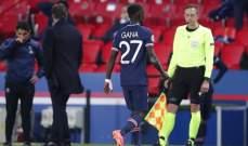 انتهاء موسم نجم باريس سان جيرمان في دوري الابطال