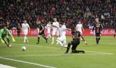 ليفركوزن يقترب من مقاعد دوري الابطال بتخطيه دوسلدورف