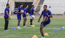 الاهلي المصري يخوض مرانه الاول في لبنان استعدادا لمواجهة النجمة