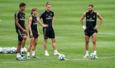 ريال مدريد ينهي اخر حصة تدريبية له في الولايات المتحدة