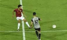 الدوري المصري: فوز متأخر للأهلي وتعادل سلبي لبيراميدز