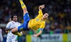 عودة زلاتان الى المنتخب السويدي بعد 5 سنوات