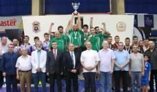 بطولة لبنان في كرة الطاولة  الجنوب تول احتفظ بلقب الرجال  والندوة القماطية بلقب السيدات