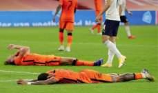 ارقام مميزة من مباراة هولندا - ايطاليا