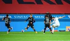 الدوري الالماني: فوز ثمين لباير ليفركوزن على الضيف أوغسبورغ