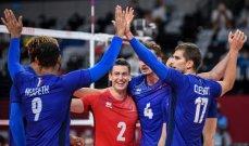 طوكيو 2020: فرنسا تضع قدمها في نهائي كرة الطائرة للرجال