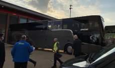 فتح تحقيق في حادثة الاعتداء على حافلة ريال مدريد